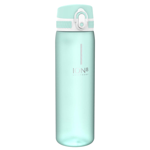 Ion8 Leak Proof Slim Water Bottle, BPA Free, Mint Aqua, 600ml