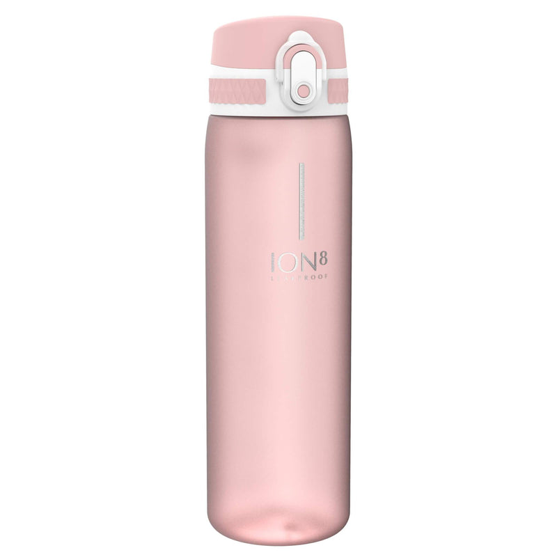 Ion8 Beauty Leak Proof Water Bottle, BPA Free, 500ml / 18oz, Blush Pink