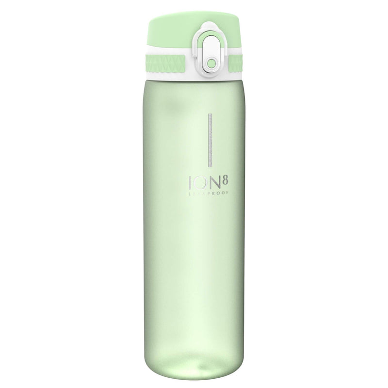 Ion8 Beauty Leak Proof Water Bottle, BPA Free, 500ml / 18oz, Frosted Seafoam