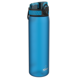 Ion8 Leak Proof Water Bottle, BPA Free, 500ml / 18oz, Blue - Leakproof.co.uk