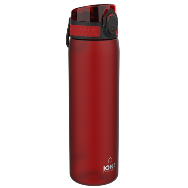 Ion8 Leak Proof Water Bottle, BPA Free, 500ml / 18oz, Chilli Red
