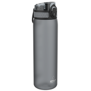 Ion8 Leak Proof Water Bottle, BPA Free, 500ml / 18oz, Grey - Leakproof.co.uk