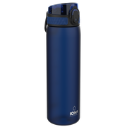 Ion8 Leak Proof Water Bottle, BPA Free, 500ml / 18oz, Navy - Leakproof.co.uk