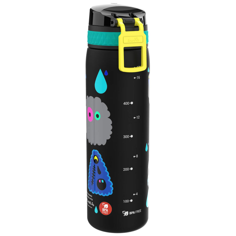 Ion8 Leak Proof Slim Water Bottle, BPA Free, Hasworld, 500ml