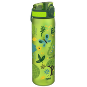 Ion8 Leak Proof Water Bottle, BPA Free, 500ml / 18oz, Green, Ecology