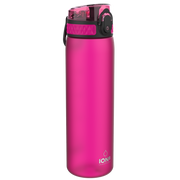 Ion8 Leak Proof Water Bottle, BPA Free, 500ml / 18oz, Pink - Leakproof.co.uk