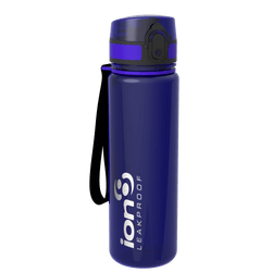 Ion8 Leak Proof Water Bottle, BPA Free, 500ml / 18oz, Amethyst - Leakproof.co.uk