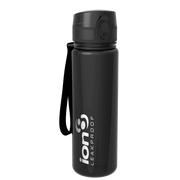 Ion8 Leak Proof Water Bottle, BPA Free, 500ml / 18oz, Onyx - Leakproof.co.uk