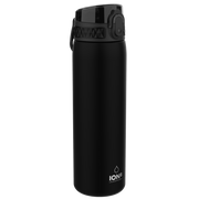 Ion8 Leak Proof Water Bottle, BPA Free, 500ml / 18oz, Black - Leakproof.co.uk