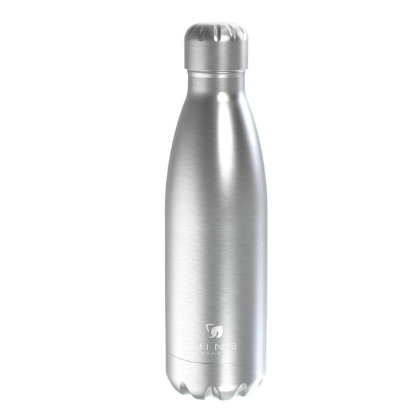 Ion8 Leak Proof Steel Vacuum Flask / Water Bottle 500ml / 17oz, Steel - Leakproof.co.uk