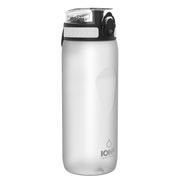 Ion8 Leak Proof Cycling Water Bottle, BPA Free, 750ml / 24oz, White