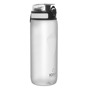Ion8 Leak Proof Cycling Water Bottle, BPA Free, 750ml / 24oz, White - Leakproof.co.uk