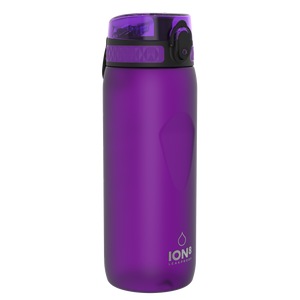 Ion8 Leak Proof Cycling Water Bottle, BPA Free, 750ml / 24oz, Purple