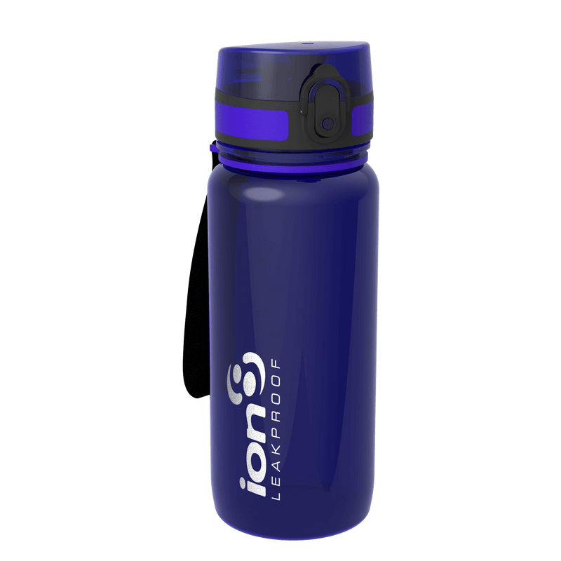 Ion8 Leak Proof Cycling Water Bottle, BPA Free, 750ml / 24oz, Amethyst - Leakproof.co.uk