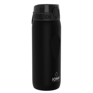 Ion8 Leak Proof Cycling Water Bottle, BPA Free, 750ml / 24oz, Black - Leakproof.co.uk