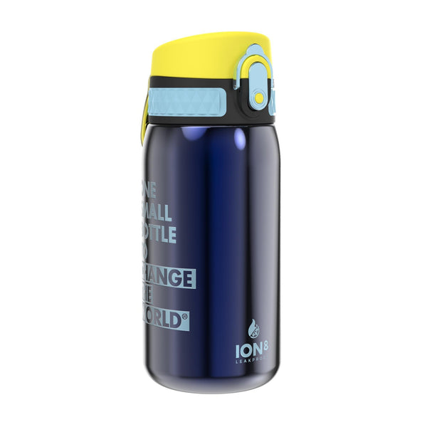 Ion8 Leak Proof Steel Water Bottle, Vacuum Insulated, Sapphire Blue, 320ml