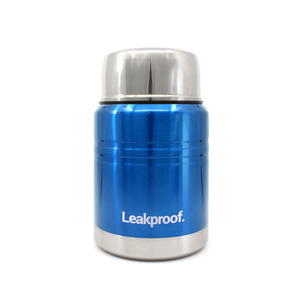 Ion8 Leak Proof Food Flasks For Hot Food, 500ml, Metallic Blue