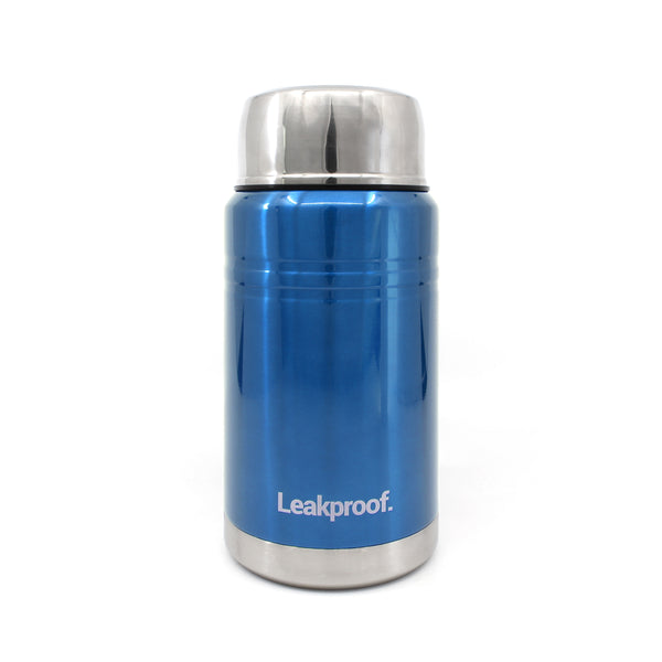 Ion8 Leak Proof Food Flasks For Hot Food, 750ml, Metallic Blue
