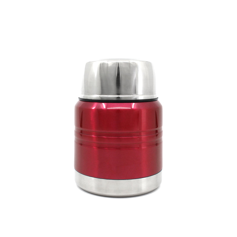 Ion8 Leak Proof Food Flasks For Hot Food Kids, 350ml, Metallic Red