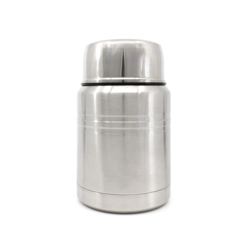 Ion8 Leak Proof Food Flasks For Hot Food, 500ml, Brushed Steel