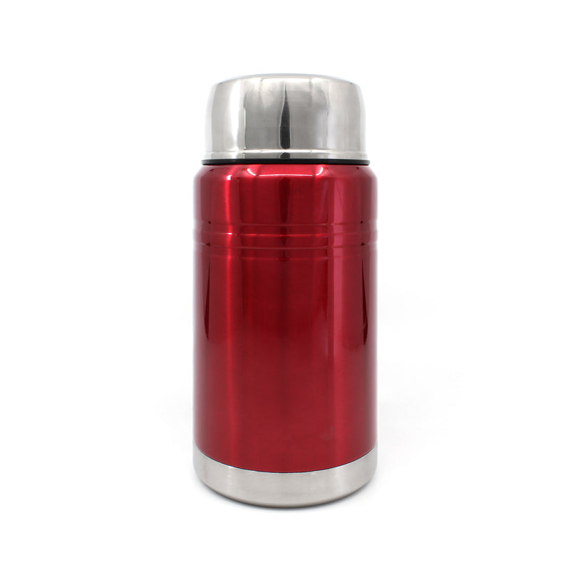 Ion8 Leak Proof Food Flasks For Hot Food, 750ml, Metallic Red