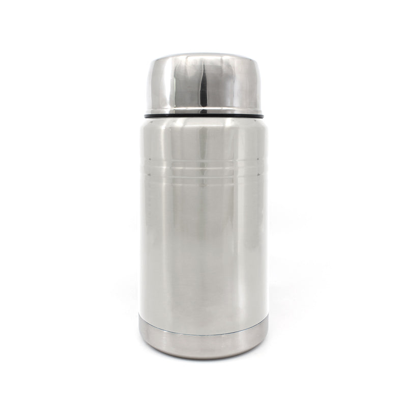 Ion8 Leak Proof Food Flasks For Hot Food, 750ml, Brushed Steel