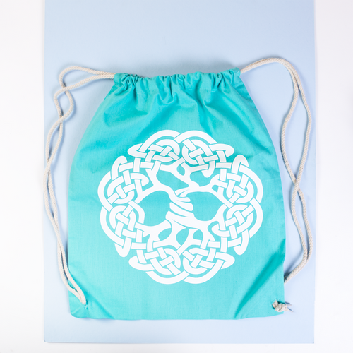 Celtic Tree of Life design Sling Bag