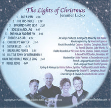 "A Celtic Christmas CD ""The Lights of Christmas"""