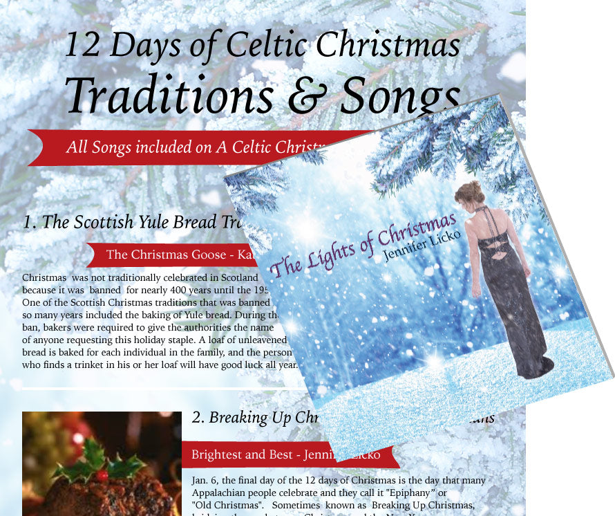 12 Days of A Celtic Christmas Traditions & Songs