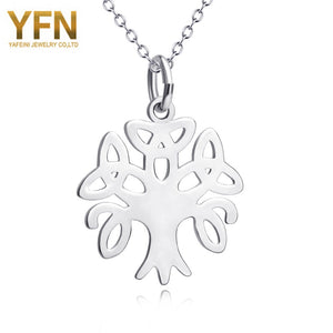 Sterling Silver Necklace - Tree of Life Pendant