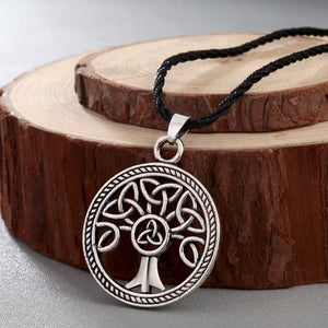 Vintage Celtic Tree of Life Necklace