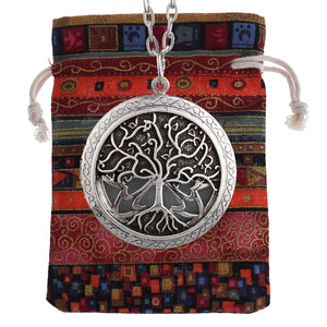 Tree of Life  Essential Oil Diffuser Locket Necklace and Pendant