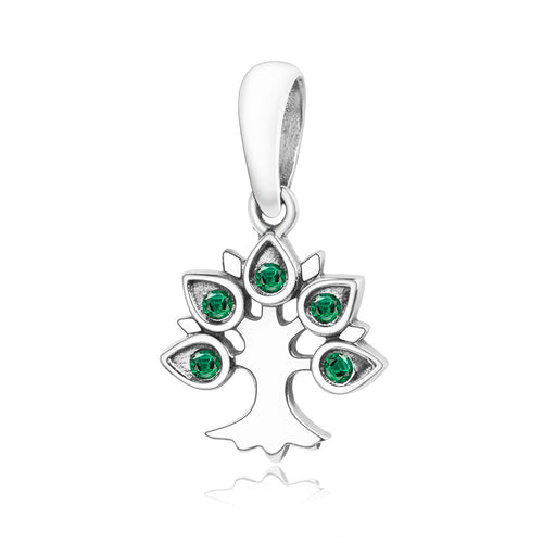 925 Sterling Silver Tree Pandora Style Charm