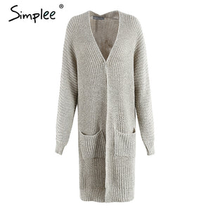Soft and loose women's cardigan