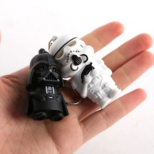 Unique Star Wars LED keychains