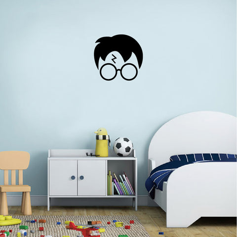 Harry Potter Silhouette Vinyl Wall Sticker