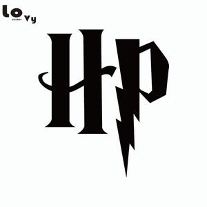 Harry Potter Initials Wall Stickers