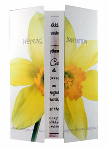 Yellow Daffodil Wedding Invitations