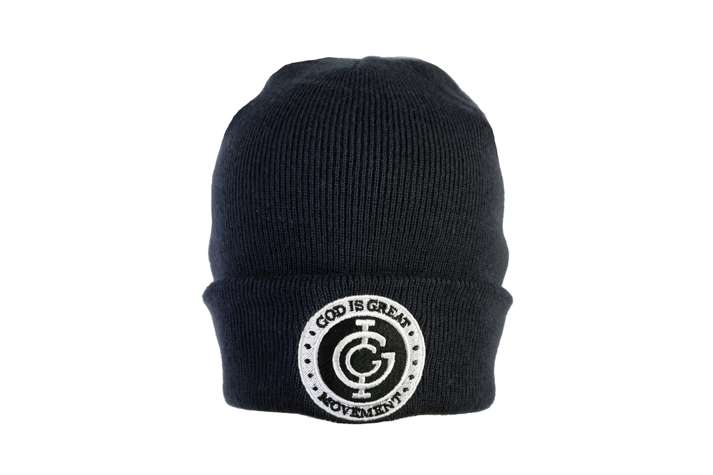 God is Great Boxed Beanie in Black