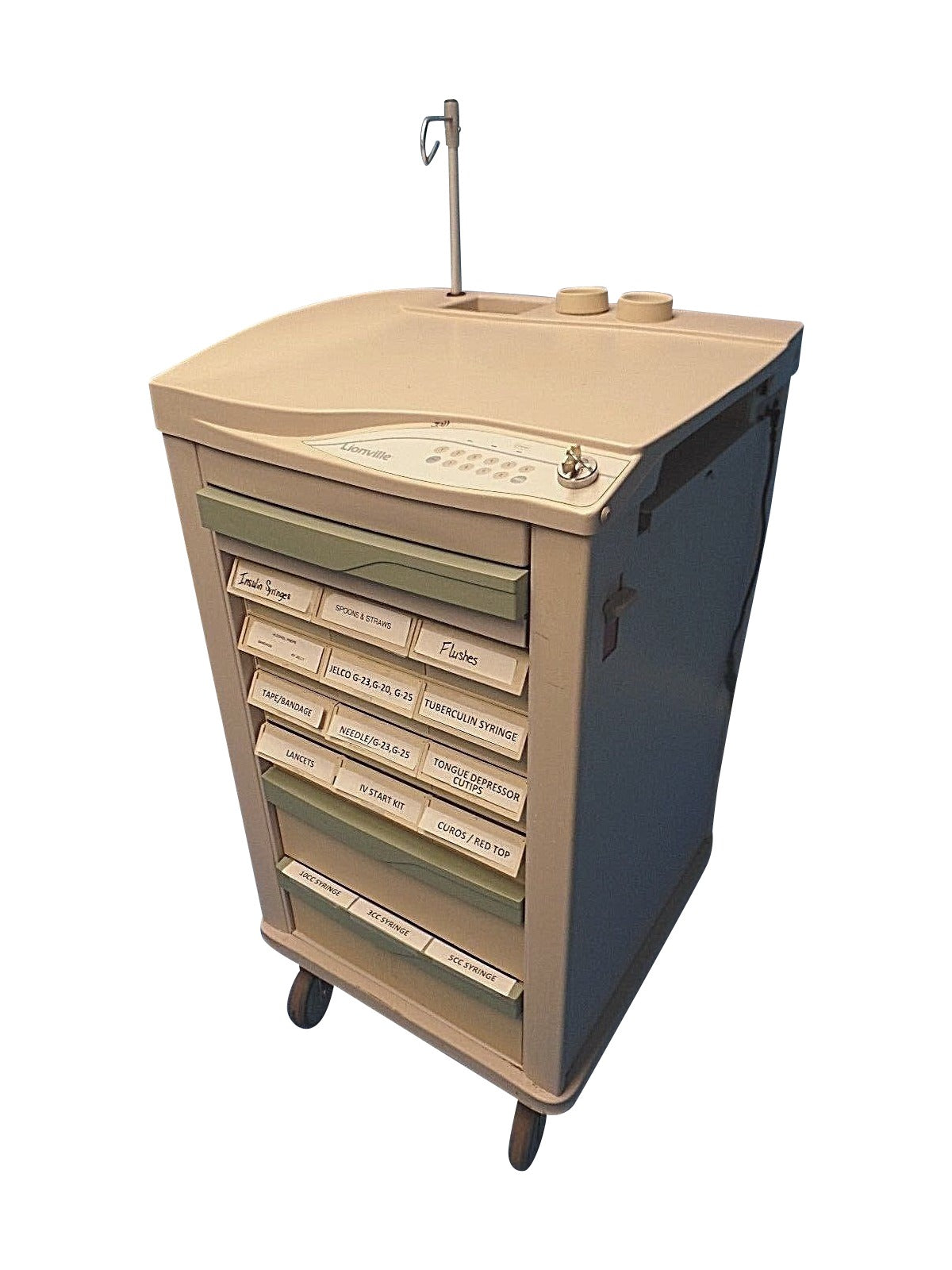 Lionville Model 800 Medication Cart