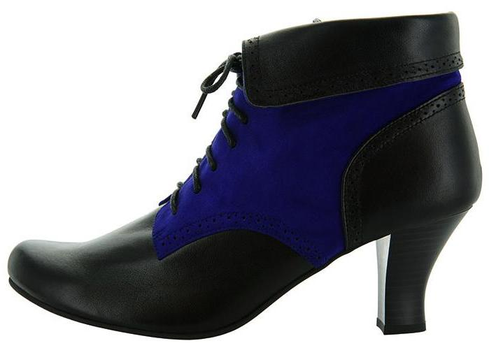 Oxford, Black/Blue