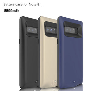Galaxy Note 8 Smart Power Battery Cover Case (5500 mAh)