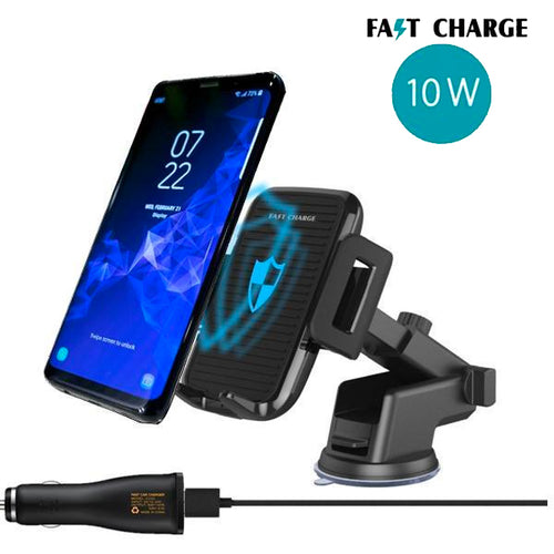 Car Mount Dashboard/ Mirror/ Air Vent Wireless Charger For Samsung S9 Plus/S9/S8 Plus/S8
