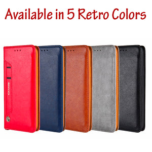 iPhone X Good Quality Leather Wallet Case With Card Holder