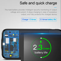 iPhone X Smart 3500mAh Power Bank Battery Charging Case For Apple