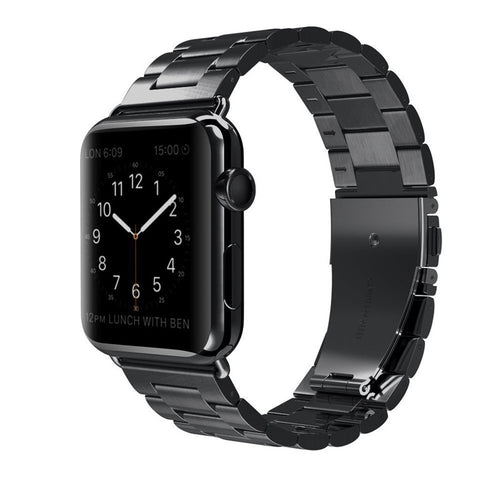 Stainless Steel Wrist/Watch Band for Apple Watch Series 4,3,2,1 (44mm,42mm,40mm,38mm)
