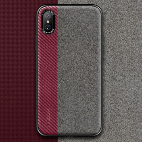 iPhone X Slim Full Protective Phone Leather Cover Case Thin Protector Shell