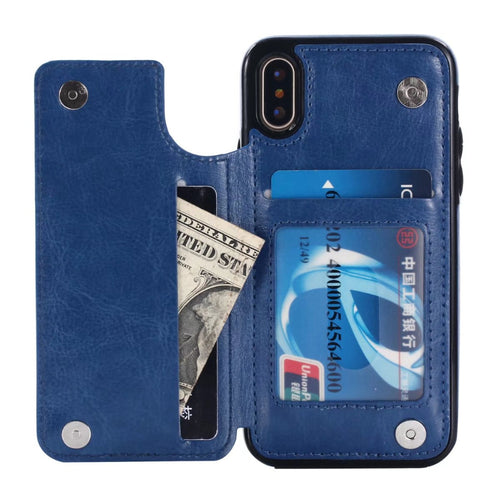 iPhone X Wallet Card Holder Flip Cover Case