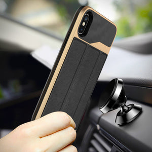 Card Slot Hybrid Armour Cover Case Apple iPhone X