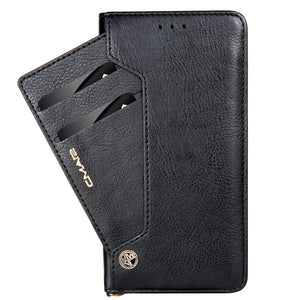 Classic Quality Leather & Wallet Cover iPhone X With Stand Luxury Card Holder